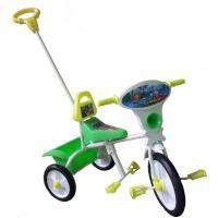 Велосипед 3-х кол МАЛЫШ (спинка+ручка+с кузовком)