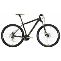 Велосипед Merida Big Nine 20 D 17'' 16'' MATT BLACK(GREEN)