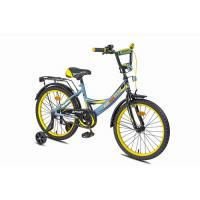 Велосипед MaxxPro Sport Z12212 серый/желтый