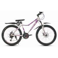 Велосипед PULSE MD350 белый/сиреневый