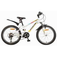 Велосипед NOVATRACK 20'', POINTER. 6-ск,белый 117036