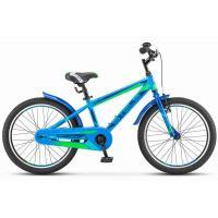 Велосипед Stels Pilot-200 Gent 11'' синий арт.V021