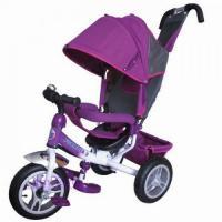 Велосипед 3-х кол FA3V пурпурный, надувн. шины