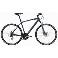 Велосипед Merida Crossway 20-D 52cm '15 Matt Anthracite(dark grey/sky blue)