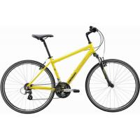 Велосипед Merida Crossway 10-V (Men) 46cm(18) 16' Matt Yellow/Black