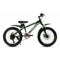 Велосипед KMS Lite MD170 черный/зеленый