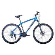 Велосипед HARTMAN Ingword Pro Disk 19'' 21ск. алюм, синий черный белый мат.