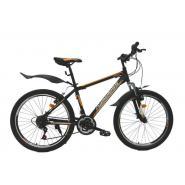 Велосипед Nameless S4300D 16'' 21ск, желтый/черный