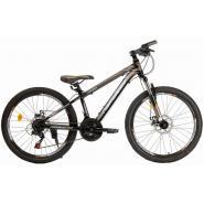 Велосипед Nameless J4100D 16' 21ск, черный/коричневый