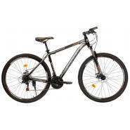 Велосипед Nameless J9500D 19' 21ск, черный/коричневый
