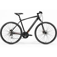 Велосипед Merida Crossway 20-D 55cm L '19 MattBlack/Orange (700C)