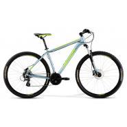 Велосипед Merida Big Nine 10-D 21''XL '21 DarkSilver/Green (29'')