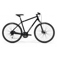 Велосипед Merida Crossway 100 47cm S '21 GlossyBlack/MattSilver (700C)