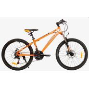 Велосипед Nameless J7300DW 15' 21ск, оранжевый/серый