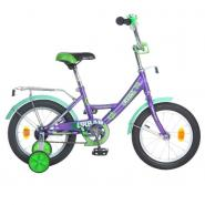 Велосипед NOVATRACK 14'',VALIANT,BK9, черный