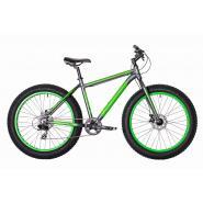 Велосипед HARTMAN Forse Pro 21 8ск. алюм серый/ораневый