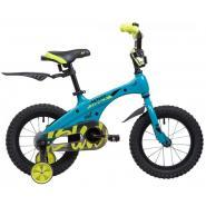 Велосипед NOVATRACK 14'',BLAST, бирюза неон