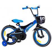 Велосипед Nameless CROSS, голубой/черный
