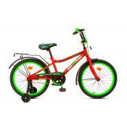 Велосипед MaxxPro ONIX-18-3 красно зеленый