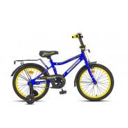 Велосипед MaxxPro ONIX-18-6 сине-желтый