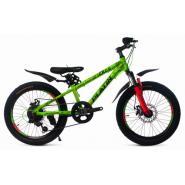 Велосипед Platin A200 оранжевый/зеленый