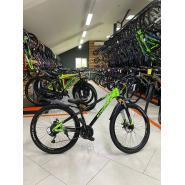 Велосипед KMS Lite MD360 15 черный/мятный