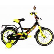 Велосипед PULSE 1405NEW черно/желтый