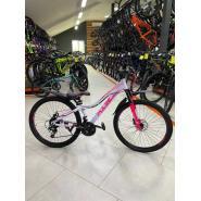 Велосипед PULSE MD4000 19 черный/оранжевый/зеленый