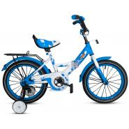 Велосипед PULSE 1602-5 белый/синий