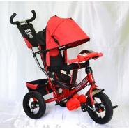 Велосипед 3-х кол A12М TM KIDS красный(Red) фара