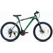 Велосипед KMS MD450 19'' черный/зеленый