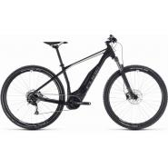 Велосипед CUBE 18 ACID HYBRID ONE 400 29 black'n'white 19''