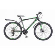 Велосипед Stels Navigator-620 МD 14 черный/зеленый/антрацит арт.V010