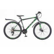 Велосипед Stels Navigator-620 МD 19 черный/зеленый/антрацит арт.V010