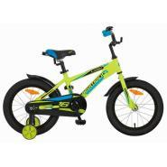 Велосипед NOVATRACK 16'',LUMEN, алюм., зеленый