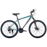Велосипед HARTMAN Hurrikan Pro Disk 21'' 21ск. алюм, антрацит оранж-серый мат