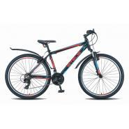Велосипед Stels Navigator-620 V 19 черный/красный/синий арт.V010