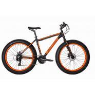 Велосипед HARTMAN Force Pro 19'' Fat-Bike 24ск. алюм, серо-красный