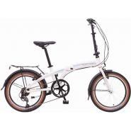 Велосипед NOVATRACK TG-20'', скл. алюм. 7-ск,белый #108675