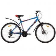 Велосипед Foxx AZTEC D, 18ск, синий/красный