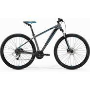 Велосипед Merida Big Nine 40-D 18,5''L '19 MattDarkSilver/Blue/Black (29'')