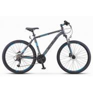 Велосипед Stels Navigator-640 D 19 серый/синий арт.V010