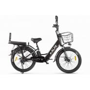 Велогибрид e-ALFA Fat темно-серый-2163