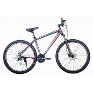 Велосипед HARTMAN Ingword Next HD Disk 19 24ск. алюм, черно-красный мат.
