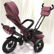 Велосипед 3-х кол A12M TM KIDS фиолетовый