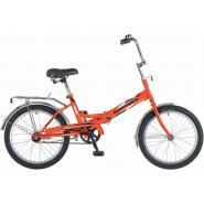 Велосипед NOVATRACK 20'', FS30, скл., оранжевый #137226