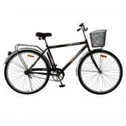 Велосипед Foxx Fusion 20'' черный-коричневый+корзина