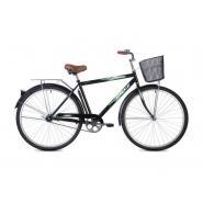 Велосипед Foxx Fusion 20'' черный+корзина