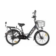 Велогибрид Eltreco e-ALFA черный