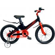 Велосипед FORWARD COSMO 1ск, черный/красный